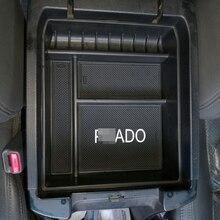 Luhuezu без холодильника центральный подлокотник контейнер держатель телефона укладка коробка для Toyota Land Cruiser Prado Интимные аксессуары