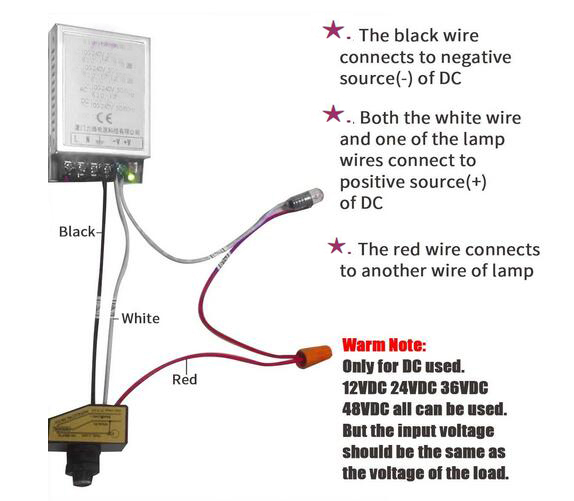 post light dusk to dawn photocell sensor wiring diagram