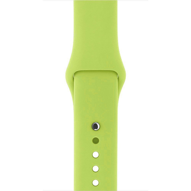 Flexible Silicone Breathable Smart Watch Strap for Apple Watch Sports&Edition Soft Bracelet Straps Watch Band for iWatch 42/38mm