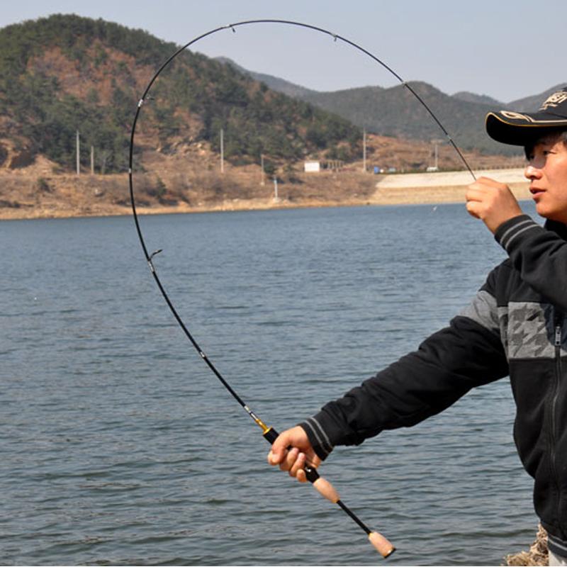 Prix pour Pas cher ul spinning rod 1.8 m 0.8-5g leurre poids ultra-léger filature tiges 2-5LB ligne poids ultra léger spinning canne à pêche chine