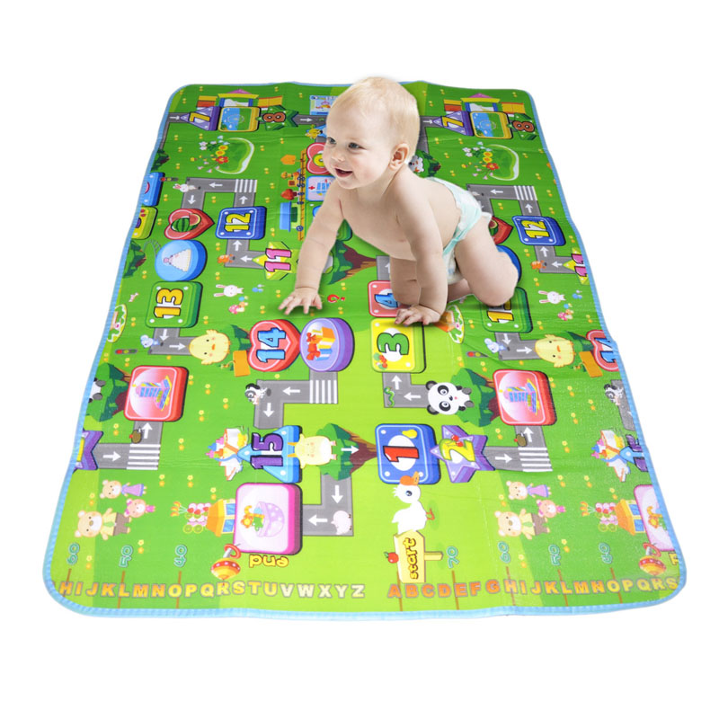 Funny Activity children puzzle mat baby for kids room carpet rug blanket learning educational toys for boys girls gifts
