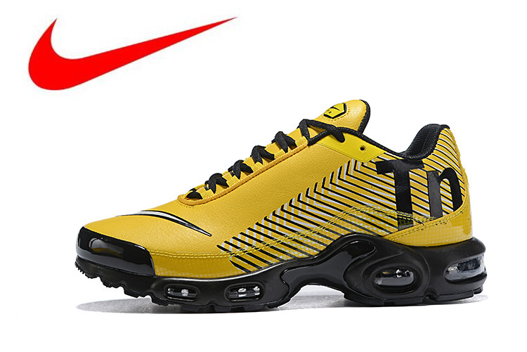 competitive price 445e6 85e52 US $71.03 58% OFF|Original NIKE AIR MAX PLUS TN Men's Breathable Running  Shoes Sports Sneakers Trainers outdoor sports shoes AQ0243 001-in Running  ...