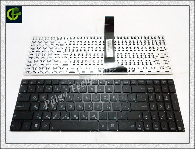 Russian Keyboard for Asus X750 X750J X750JA X750JB X750JN R751L R751LA R751LB R751LN R502 R502A R502U RU Black