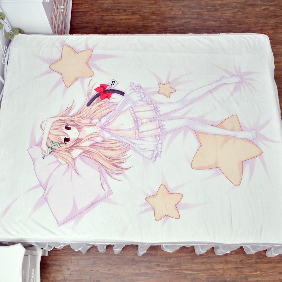 Moeyu Anime Karakteri Origjinal Moeyu-chan Shtrati i shtratit për - Tekstil për shtëpi - Foto 2