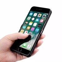 Ultra-cienki przenośne o dużej pojemności 3000 mAh klip mobile power dla iPhone6/6 s/7 fast charge klip przypadku zasilania zewnętrznego