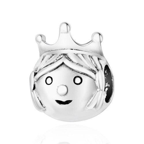 Подходит для оригинальных браслетов Pandora DIY Ювелирные изделия Осенняя коллекция ромашки ажурные шармы 925 пробы серебряные бусины в виде цветка - Цвет: A16