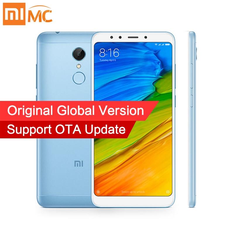 Versión Global Xiaomi Redmi 5 2 GB 16 GB 5,7 pulgadas Pantalla Completa Snapdragon 450 Octa Core 12.0MP Cámara 3300 mah cuerpo de Metal teléfono móvil