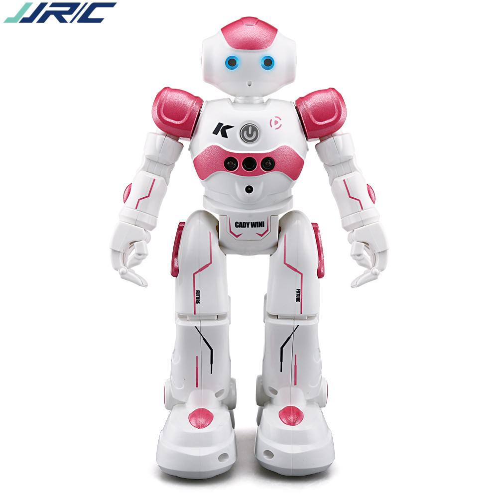 JJRC R2 remote control mini robot Cady Viv Bnnie blue/pink singing and dancing boys and girls interactive intelligent toys intelligent wireless remote control robot dog kids dancing walking dog