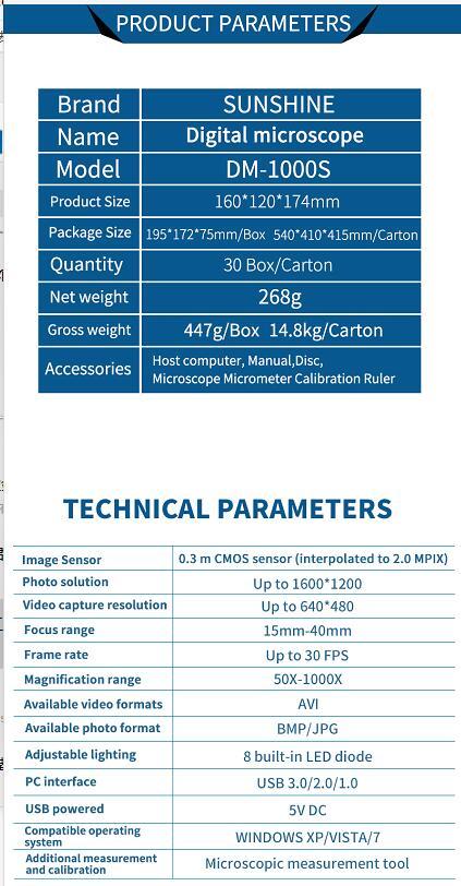 DM-1000S  4