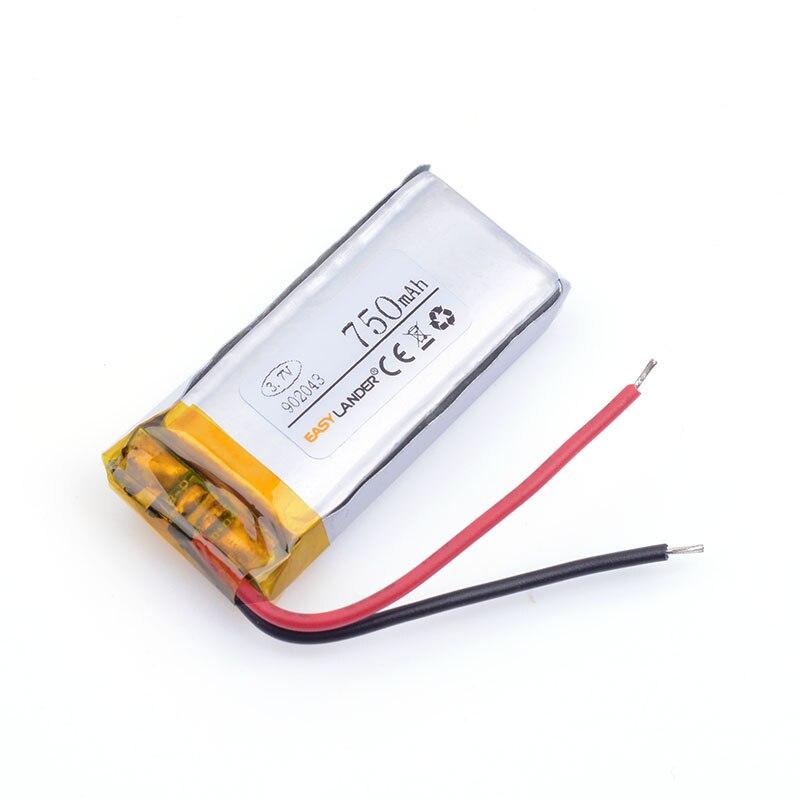 best battery brand 3.7 V polymer lithium battery 902043