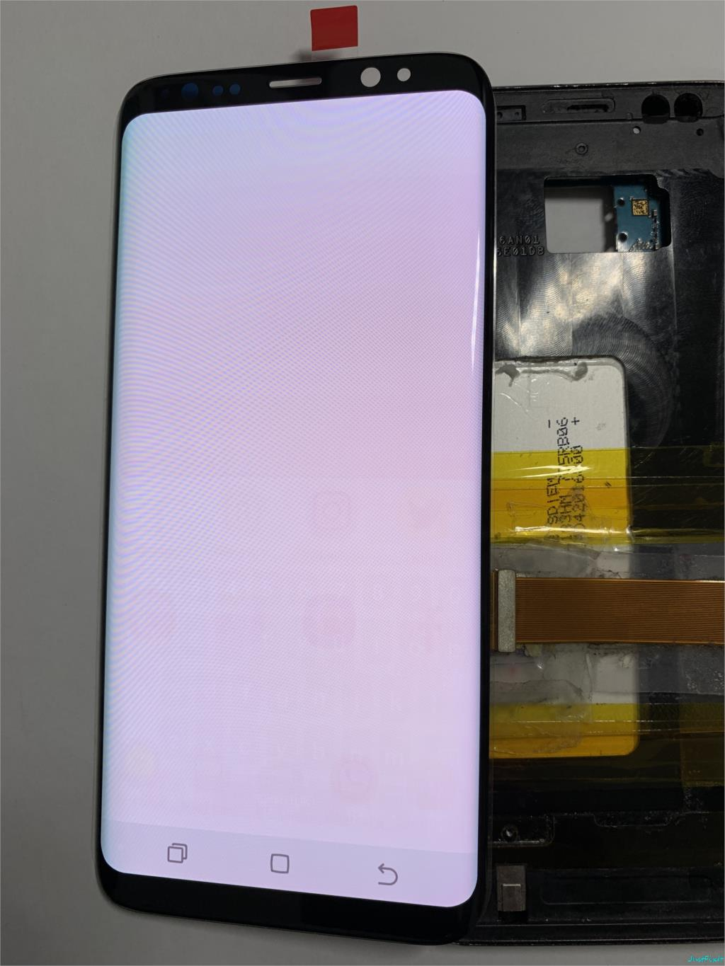 Original Screen with Burn-in Shadow For Samsung Galaxy S8 G950F G950fd lcd display touch screen Digitizer Super amoled