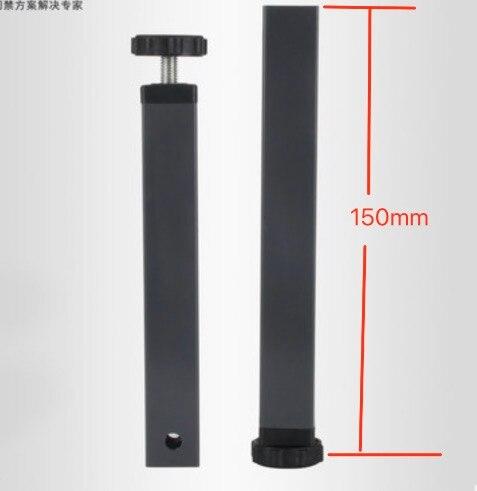 4 шт.. Высота: 150 мм (для 30x30 мм квадратные трубы) pinch поддержки ноги кровать ноги  ...