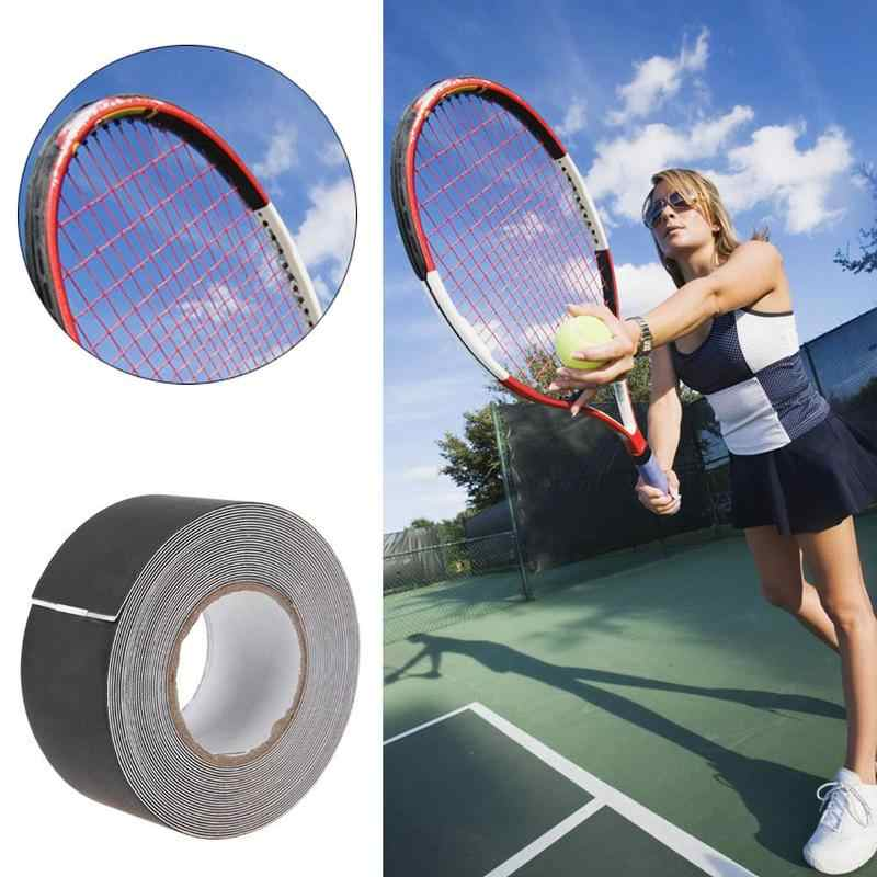 1 Reel 500CM Tennis Racket Dedicated Racket Protector/Racket Head To Reduce Impact And Friction Sticker (black/white)