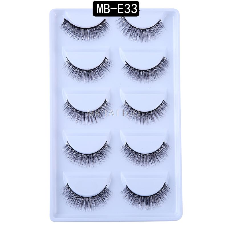 HTB12HUPQYvpK1RjSZPiq6zmwXXa0 New 3D 5 Pairs Mink Eyelashes extension make up natural Long false eyelashes fake eye Lashes mink Makeup wholesale Lashes
