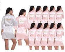 2019 Mới Cô Dâu Mặc Áo Choàng Áo Choàng Cô Dâu Mặc Áo Choàng Hồng Nhạt Satin Áo Dây Phù Dâu Áo Cưới
