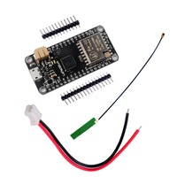 LoRa32u4 433 МГц RA02 Lora модуль макетная плата IOT LiPo Atmega328 SX1278 для Arduino + антенна и JST-PH2.0MM-2P кабель RCmall