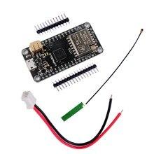 LoRa32u4 Placa de desarrollo de módulo, 433mhz, RA02 Lora, IOT, LiPo, Atmega328, SX1278, para Arduino, antena y Cable de JST PH2.0MM 2P, RCmall