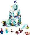 2017 Nuevo Amigo Castillo de Hielo Espumoso de Elsa Anna Olaf Princesa Kits de Edificio Modelo Bloques de Ladrillos de Juguete de Regalo Chica Compatible 41062