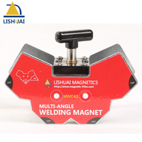 Lishuai Multi Angle Magnetic Clamp Welding Magnet 60Kgf Small Size