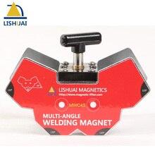 Lishuai multi-winkel Schaltbare Magnet Halter/Starke Leistung NdFeB Schweißen Magneten Clamp