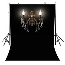 5x7ft Dark Style Backdrop Classical Crystal Chandelier Photography Background and Studio Props