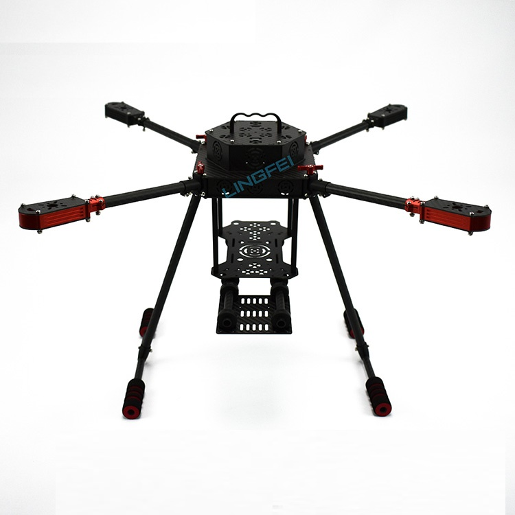 1Set Aerial Photography X4 Carbon Fiber Frame Kit 550mm Wheelbase 12mm Tube Arm Frame for Four-Axis Drone Accessories jmrrc h4 850 four axis folding frame flight platform aerial photography quadcopter for industrial application purpose drone