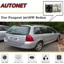 AUTONET di Backup macchina fotografica di Retrovisione Per Peugeot 307SW Sedan/Visione Notturna di HD/Macchina Fotografica di Parcheggio/della targa della macchina fotografica