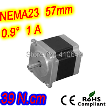 12  pieces per lot  high resolution step motor 23HM16-1006S  L 41 mm Nema23 with 0.9 deg  1A  39 N.cm and  unipolar 6 lead wires dac715ul 16bit unipolar 28soic dac715u 715 dac71 715u dac7 715ul