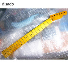 disado 21 Frets inlay dots maple Electric Guitar Neck Guitar accessories Parts guitarra musical instruments