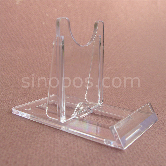 Online Shop Plastic Twist Adjustable Sliding Stand Small 40x40 Card Classy Adjustable Acrylic Display Stands