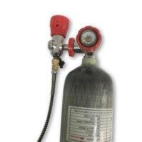 Горячая Распродажа PCP Пейнтбол бак углерода Волокно цилиндра Воздушный баллон 3l300bar 4500psi композитный баллон с судить и АЗС