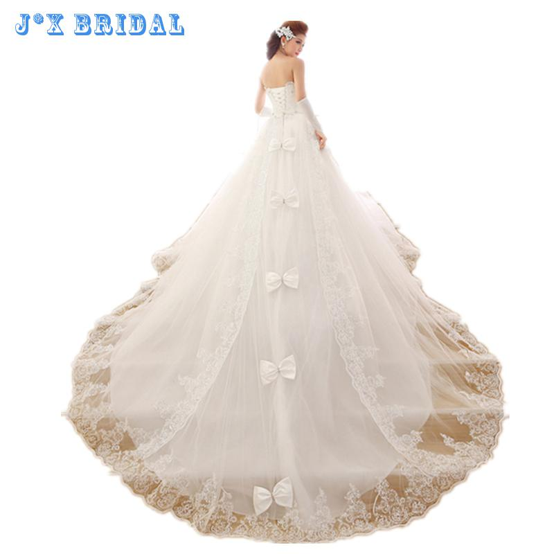 Wedding dress2017 new bridal dresses korean style long for Dresses that can be used as a wedding dress