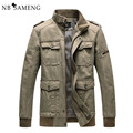 2016 New Spring Men Casual Jacket Brand Clothing Tactical Coat Military Style Cotton Jackets Army Jaqueta NSWT170