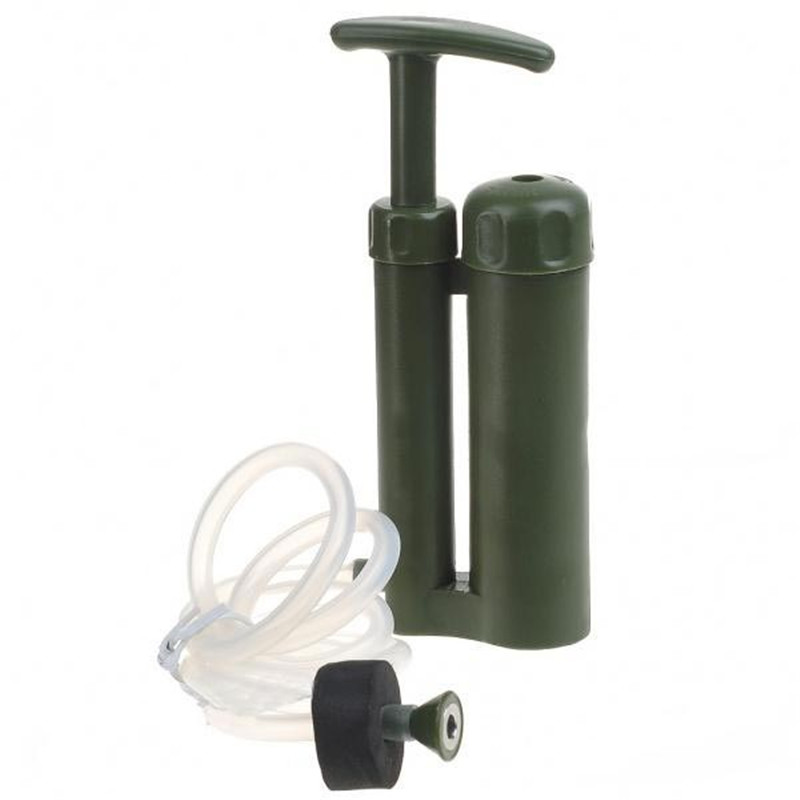 Outdoor Survival Water Filter Purifier Pump Drinking Pipe Cleaner For Camping Emergency Highest Filtration Camping Safety 6162 63 1015 sa6d170e 6d170 engine water pump for komatsu