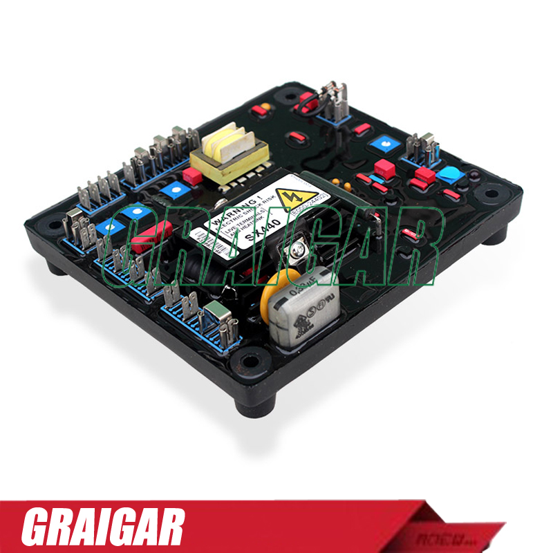 Self Excited Automatic Voltage Regulator SX440 Generator AVR(RED)