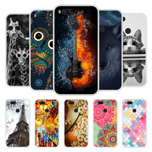 Case For Xiaomi Mi A1 Soft Silicone TPU Chic Patterned Printed Phone Cover For Xiaomi MiA1 Mi A 1 Cases Coque(China)