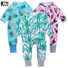 Kids Tales 2019 three-piece suit cotton baby boy rompers