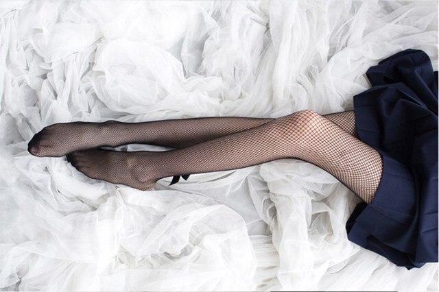 VintageBlack Mesh Fishnet Slim Net Pantyhose 4