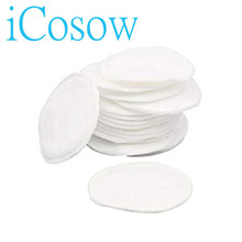 iCosow 100pcs Makeup Cosmetic Cotton Pads Wipe Natural Daily Supplies Facial Cotton Makeup Remover Tool