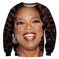 Alisister new Fashion Oprah sweatshirt women clothing 3d Character hoodie printed Harajuku sweatshirts sexy women hoody