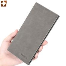 men's wallet Thin slim wallet leather lo