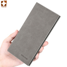wallet men Thin slim wallet leather long Male Clutch mens wallets coin hand purse pocket cartera hombre billetera hombre 2019 цена
