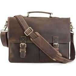 Весть Винтаж стиль большой офис сумка мужчин натуральная кожа портфель мальчик Кроссбоди книги мешок 1116