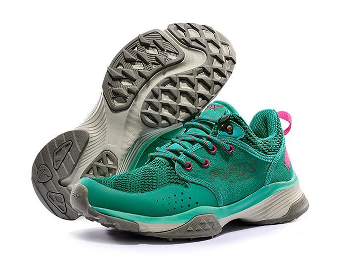 RAX femmes chaussures de randonnée dames en cuir véritable maille respirant antidérapant antichoc marche baskets femme montagne trekking chaussures