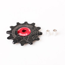 12T Jockey Wheel POM NSK Bearing bicycle Rear Derailleur for sh imano s ram cam pagnolo(China)