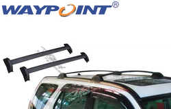 Dla HANDA CRV 2002 2010 czarny bagażnik bagażnik dachowy poprzeczka poprzeczka poprzeczka w Zestawy karoserii od Samochody i motocykle na