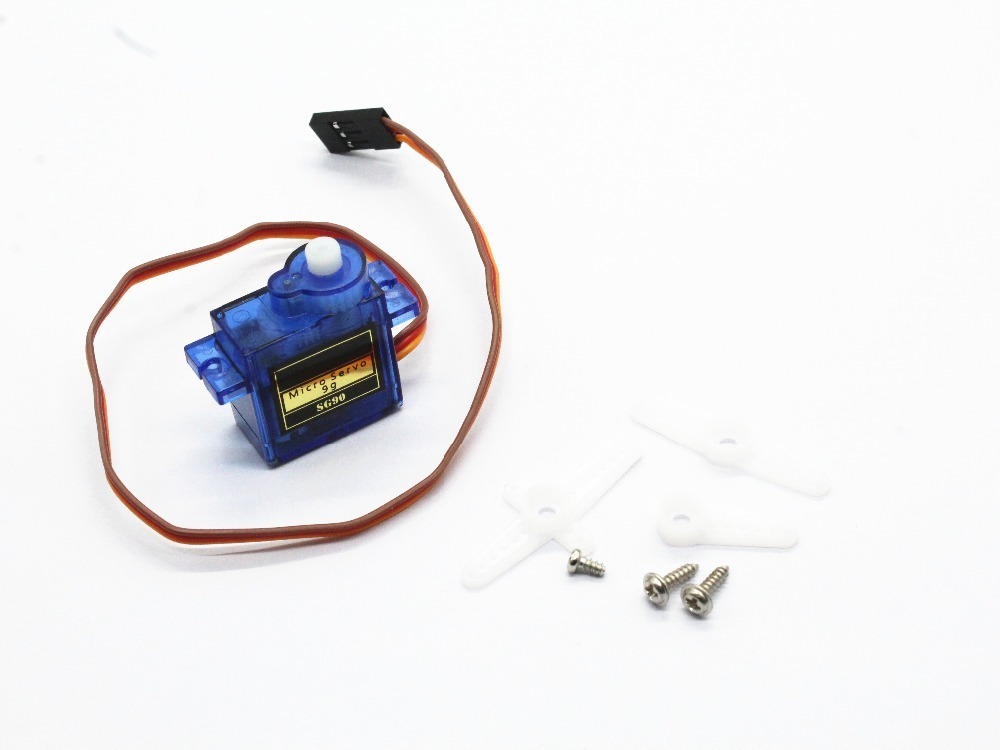 HOT 1Pcs Steering Gear Rc Mini Micro 9g 1.6KG Servo SG90 For RC 250 450 Helicopter Airplane Car Boat