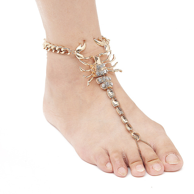cheville plated item jewelry chaine bracelets ankle bracelet new simple women hot foot de anklets nice indian unique fine celebrity chain anklet link toe