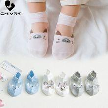 5Pairs/lot Baby Socks Newborn Summer Mesh Thin for Girls Cotton Infant Casual Boy Toddler Cartoon