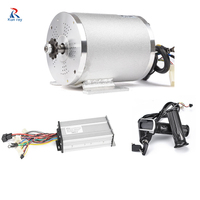 48V 2000W Motor Wheel Electrical Motorcycle Conversion Kit Bicycle Engine Brushless Controller Set Motor Bike Accessories Parts